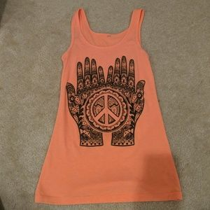 Tops - SIZE SMALL PEACE TANK!